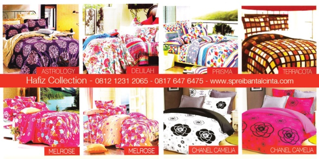 Grosir-Sprei-Bogor-Sprei-Star-Astrology, Delilah, Melrose, Prisma,Terracota,Chanel-Camelia - Katalog-Sprei-Star-All-New-2014-Collection - 081212312065