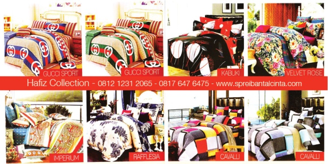 Jual-Sprei-Star-Bogor, Gucci-Sport, Imperium, Raflesia, Kabuki,Velvet-Rose, Cavalli, Katalog-Sprei-Star-All-New-2014-Collection - 081212312065