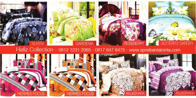 Katalog-Sprei-Star,Almira,Bedcover-Gardenia,Hermes-Focus, Roseberry, Butterfly Garden,Anjasmara -Katalog-Sprei-Star-All-New-2014-Collection - 081212312065